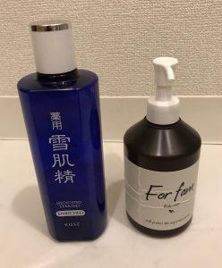 化粧水と保湿