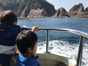 浦富海岸島巡り遊覧船浦富海岸島巡り遊覧船 幼児