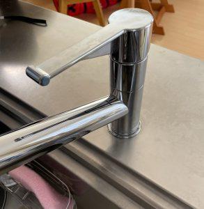 カバーナット、固着、分岐水栓、食洗器